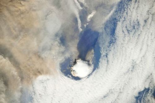 Erupção Vulcão 1